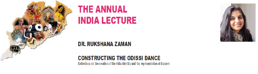 The Annual India lecture - Dr Rukshana Zaman