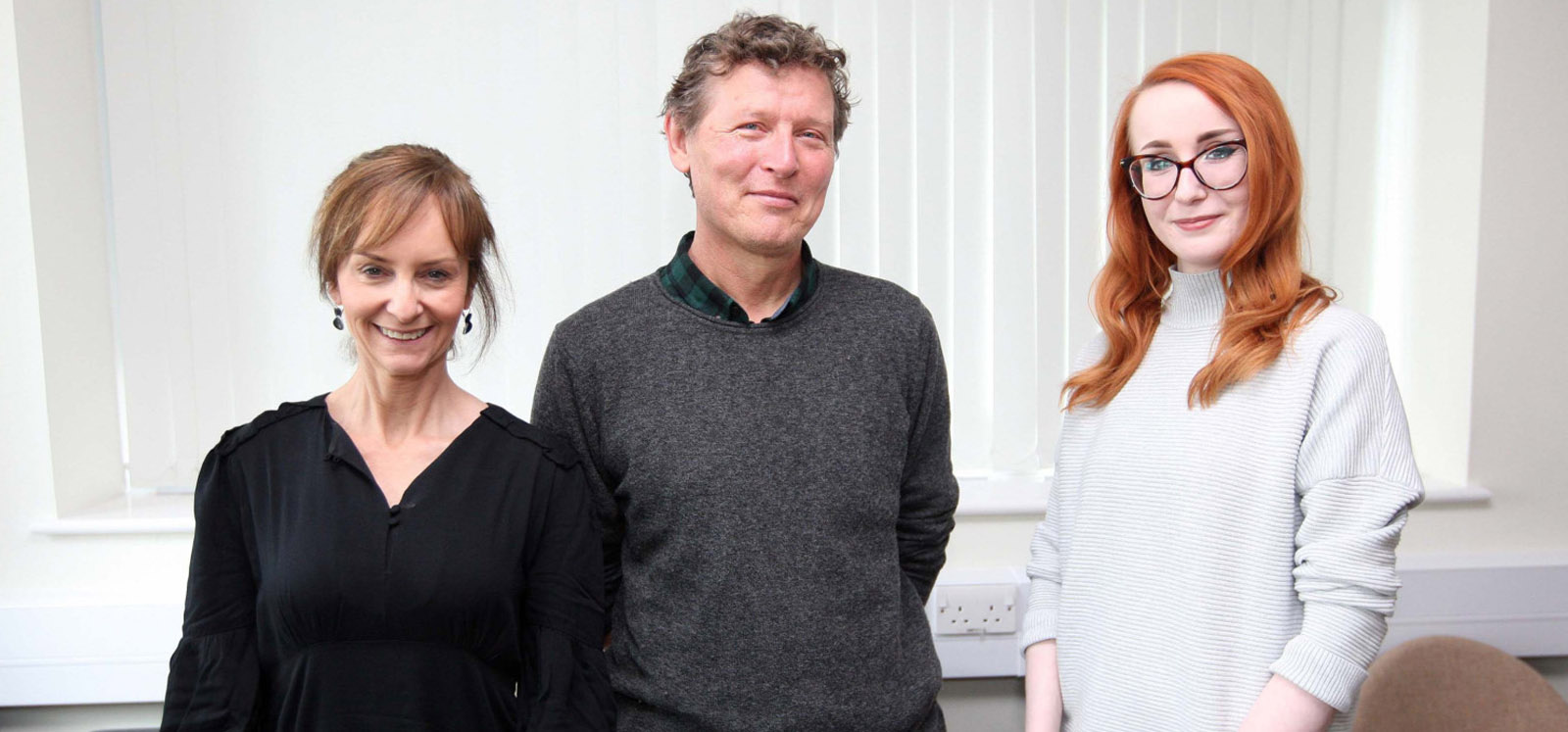 News   Northern Ireland patients on how getting to art of