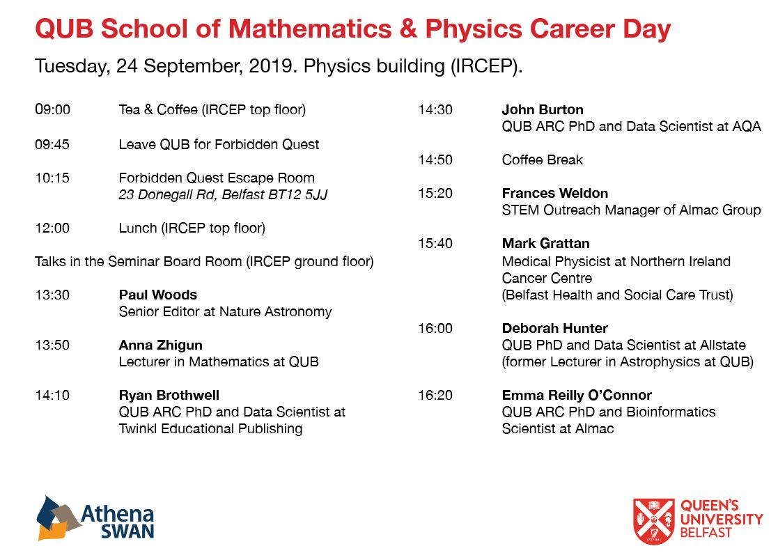 Career Day for PhD students & postdocs, September 24th