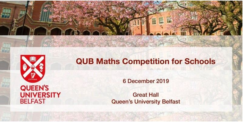 QUB Maths Competition for Schools 2019