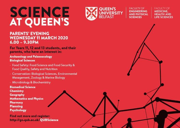 Science at QUB