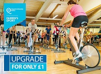 Queen's Sport upgrade offer