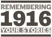 Remembering 1916 exhibition logo