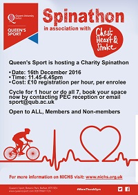 Queen's Sport Spinathon
