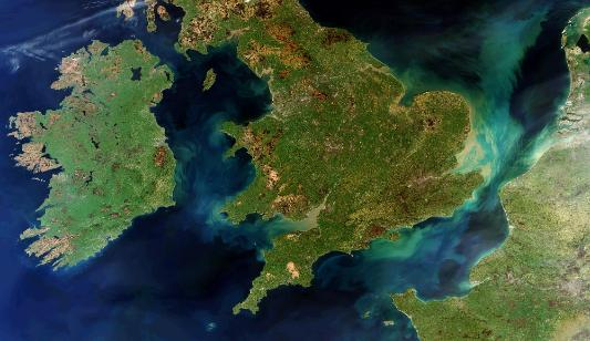 British Isles Satellite