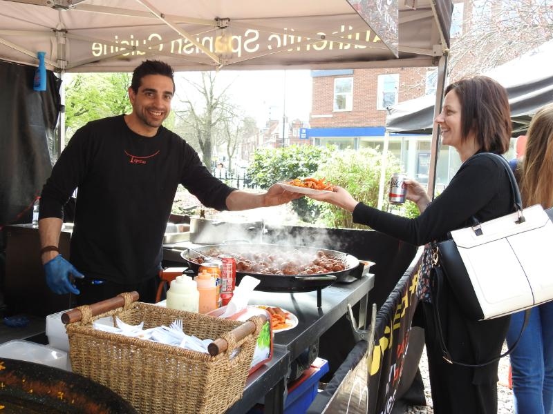 Campus Food Market traders