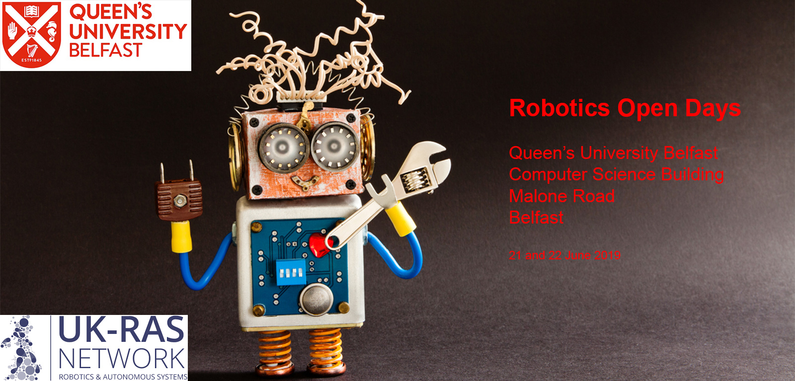 Event image for Robotics Open Days 2019