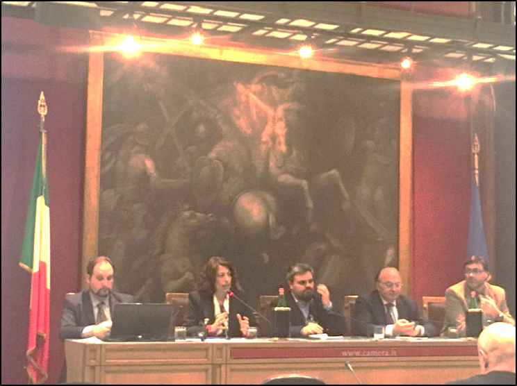 Conference at the Italian House of Representatives
